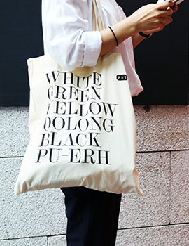 P&T TEA GEEK BAG 에코백